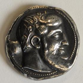 """Copy"" of a Nazos Tetradrachm"
