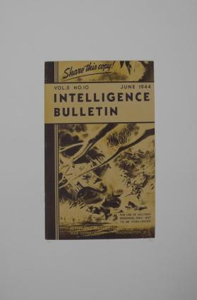 Intelligence Bulletin from the portfolio In Our Time: Covers for a Small Library After the Life for the Most Part