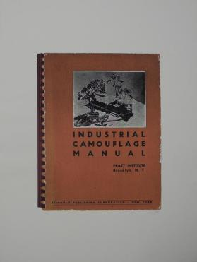 Industrial Camouflage Manual from the portfolio In Our Time: Covers for a Small Library After the Life for the Most Part