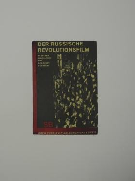 Der Russische Revolutionsfilm from the portfolio In Our Time: Covers for a Small Library After the Life for the Most Part