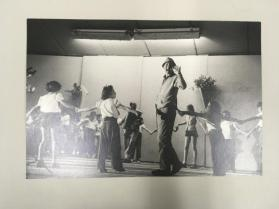 Danny Kaye in Israel with circle of children