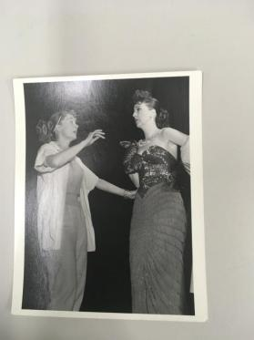 Gypsy Rose Lee & June Havock in The Woman, New York City