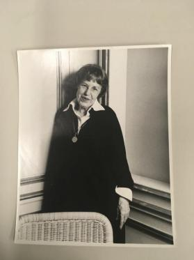Lotte Lenya at Goethe Haus Symposium on Kurt Weill