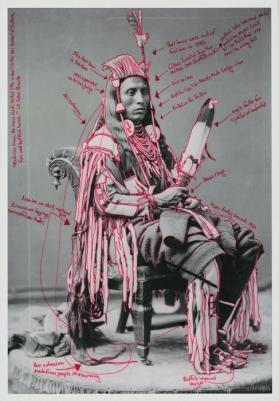 Peelatchiwaaxpáash / Medicine Crow (Raven) from Medicine Crow & The 1880 Crow Peace Delegation