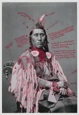 Déaxitchish / Pretty Eagle from Medicine Crow & The 1880 Crow Peace Delegation