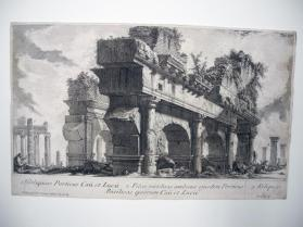 Remains of the portico of Gaius and Lucius