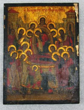 Icon of the Dormition of the Virgin