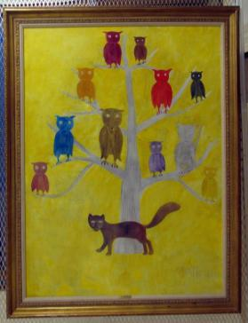 L'Arbre aux Hiboux (Tree with Owls)