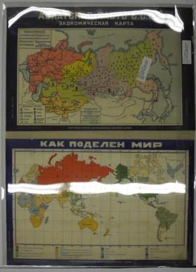 Maps of Russia and the World