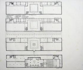 Floor Plans of Proposed New Duke University Museum of Art