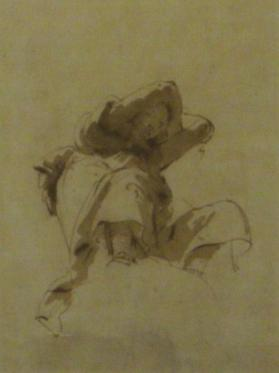 Seated Figure (Study for a Ceiling Painting)