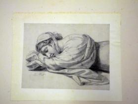 Young Woman Asleep