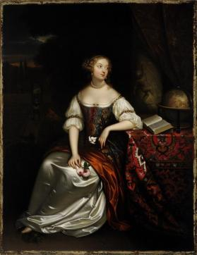 Allegorical Portrait of a Lady (after Caspar Netscher)