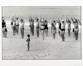Beach Group, Sylt, West Germany from the portfolio Photographs, Elliott Erwitt