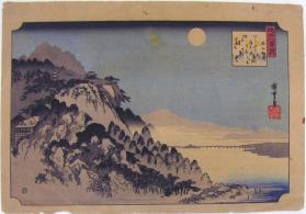Autumn Moon at Ishiyama