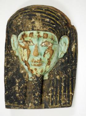 Mask Fragment from a Coffin Cover