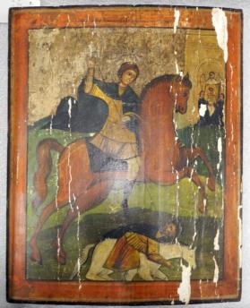 Icon of Saint James the Moor Slayer