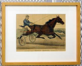 Trotting Mare Nancy Hanks, record 2:04